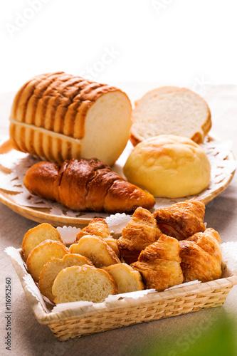 Garden Poster Cookies クロワッサンとフランスパンとパンいろいろ
