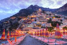 Beautiful Positano, Amalfi Coa...