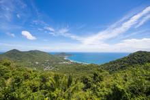 Top View Of Koh Tao At Mango Viewpoint