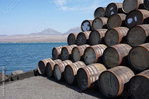 Fotografia Whiskyherstellung auf Islay