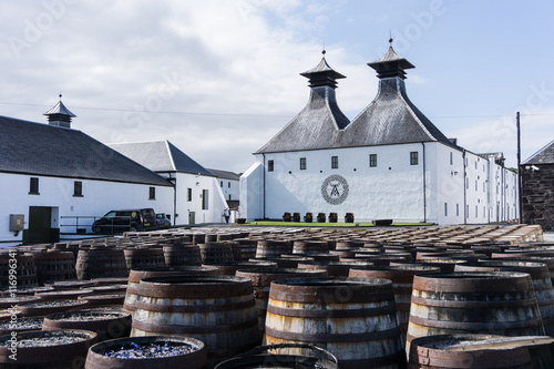 Fototapeta Distillerie
