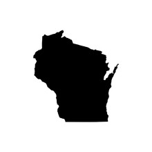 Wisconsin State Vector Map Iso...