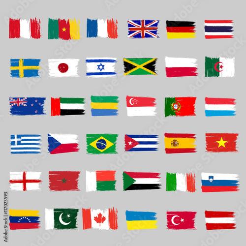 Plakat na zamówienie Flagi
