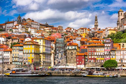 Porto Portugal on the River Wallpaper Mural