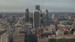 amazing london skyline from high vantage point