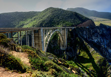 Bridge Big Sur California Hwy 1