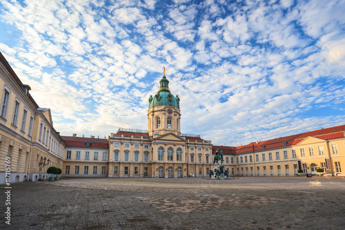 Photo sur Toile Berlin Charlottenburg palace, Berlin, Germany