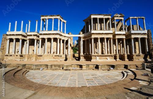 Fototapeta Roman Theater in Mérida, Spain