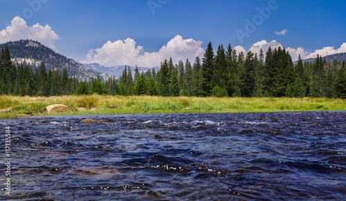 Fotografering  Babbling Mountain Stream