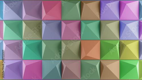 Plakaty geometryczne tło 3D