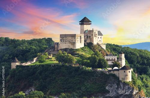 Foto op Plexiglas Kasteel Castle Trencin, Slovakia