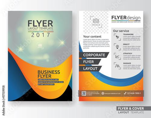 Multipurpose Corporate Business Flyer Layout Template Design