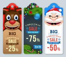 Christmas Sale Tags. Christmas...
