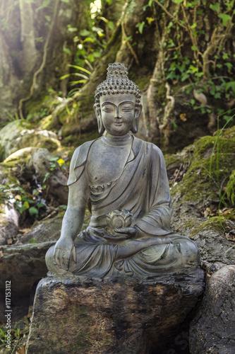 Statue de Bouddha Slika na platnu