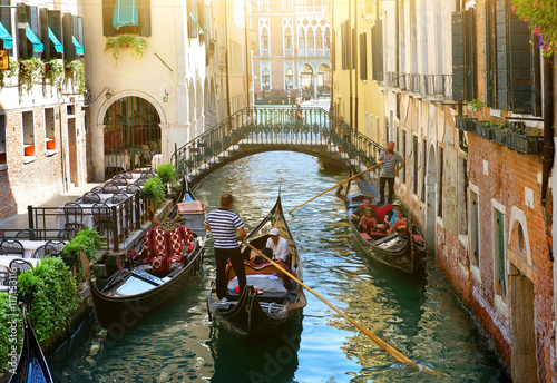 Foto op Canvas Venetie Canal in Venice