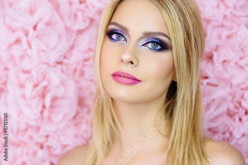 Fotografie, Obraz  Beauty Woman Face closeup