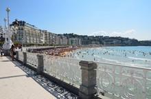 Strand Im Historischen Seebad ...