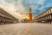 San Marco Square With Campanil...