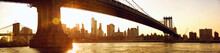 Manhattan Skyline Panorama Und...