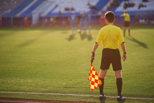 Referee Soccer. Referee Is On ...