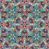 Boho Flower Pattern - 117200963