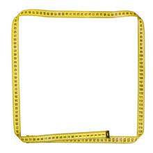 Frame Yellow Centimeter Tape