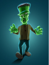 Frankenstein Illustration