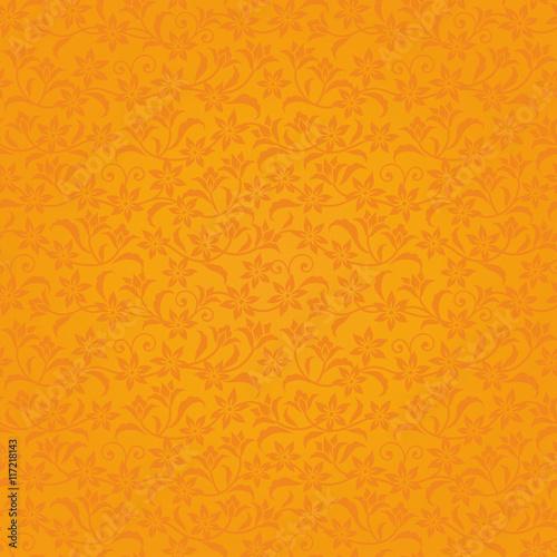 Fotografie, Obraz  オレンジ 花の背景 高級感