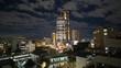 the unique tokyo skyline japan