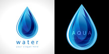 Water Drop Icon. The Logotype ...