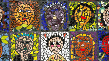 Faces In Mosaic