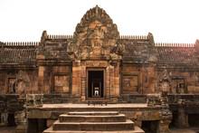 Sandstone Castle, Phanom Rung In Buriram Province, Thailand.