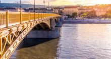 Margaret Bridge. Budapest, Hungary