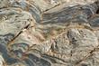 Leinwanddruck Bild - stone structure detail