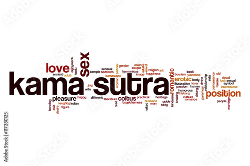 Kama sutra word cloud concept - 117280125