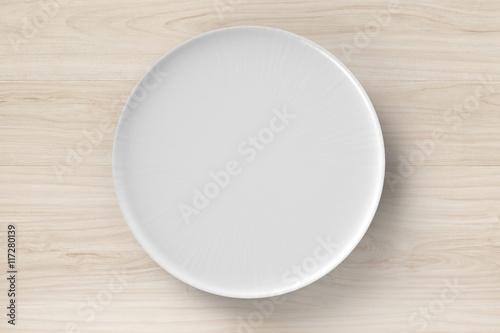 Carta da parati white dish