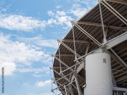 Spoed Foto op Canvas Stadion sport stadium