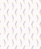 Lawendowy bezszwowy kropka wzór. Śliczna francuska tapeta. Ilustracji wektorowych. - 117286356