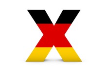 Germany Letter X