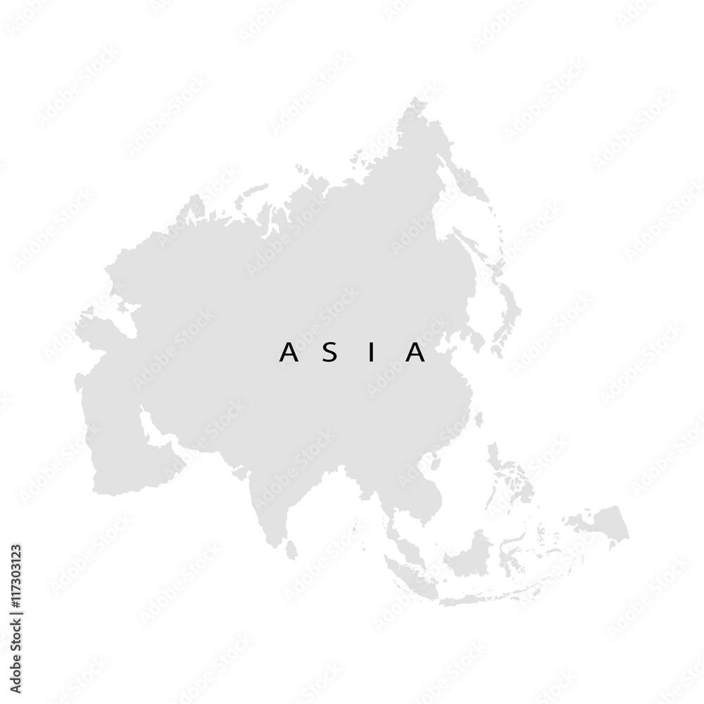 Fototapeta Continent Asia
