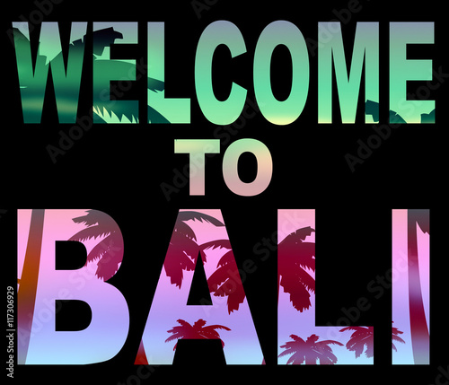 Welcome to bali means arrival vacations and invitation buy this welcome to bali means arrival vacations and invitation thecheapjerseys Gallery