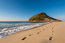 Footsteps In Sand In Recreio B...
