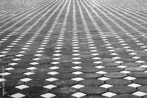 Block paving pattern - Buy this stock photo and explore similar