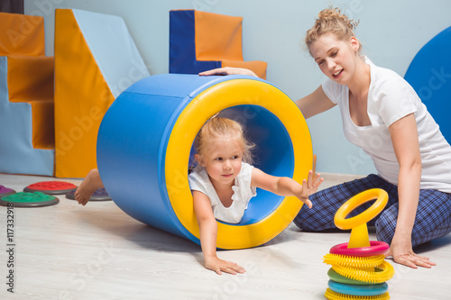 Exercise equipment in sensory therapy