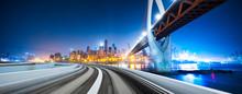 Bridge,highway,cityscape And S...