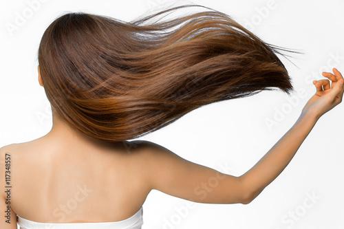 Fotografie, Obraz  躍動感ある髪