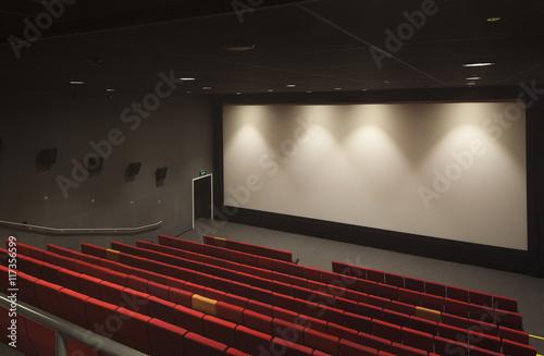 Interior of an arts centre