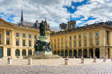 Statue In The City Of Reims. C...
