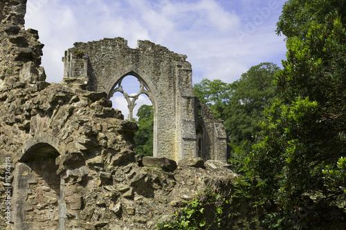 Foto op Aluminium Rudnes Ruiny starego kościoła