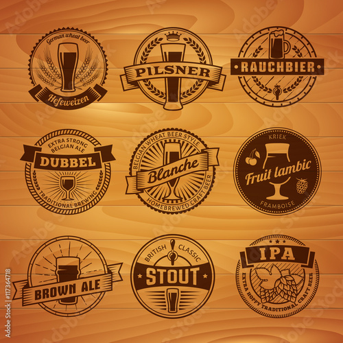 Belgian Beer Labels